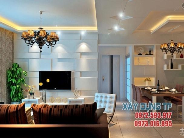Thiết kế trần thạch cao phòng khách hiện đại 2019 mà bạn nên xem tran thach cao phong khach 6 min