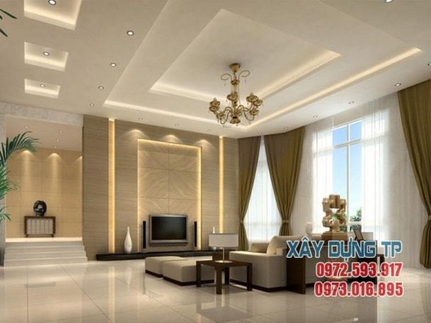 thiết kế trần thạch cao phòng khách hiện đại 2018 mà bạn nên xem Thiết kế trần thạch cao phòng khách hiện đại 2018 mà bạn nên xem tran thach cao phong khach 8 min