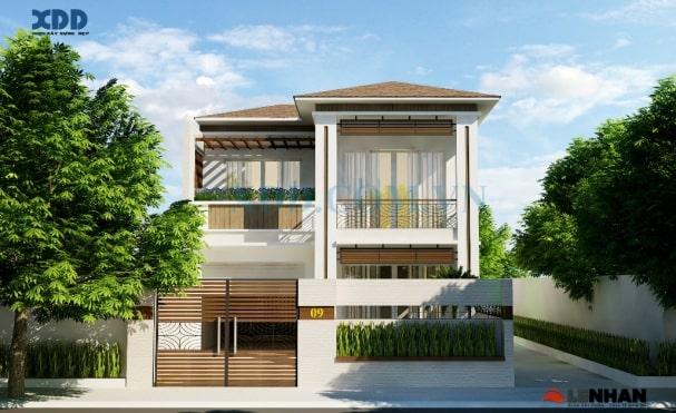 Một số mẫu biệt thự 2 tầng được nhiều khách hàng ưu chuộng