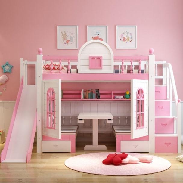 Giường trẻ em kiểu ngôi nhà thông minh