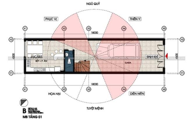 mẫu thiết kế nhà lệch tầng đẹp - 3