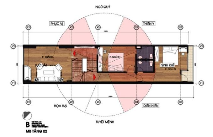 mẫu thiết kế nhà lệch tầng đẹp - 4