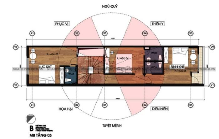 mẫu thiết kế nhà lệch tầng đẹp - 5
