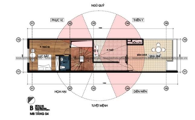 mẫu thiết kế nhà lệch tầng đẹp - 6