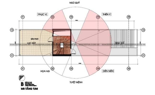 mẫu thiết kế nhà lệch tầng đẹp - 7