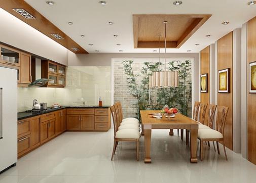 Nhà bếp căn biệt thự 2 tầng đẹp