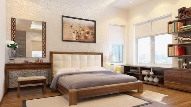 Phòng ngủ đẹp nhà cấp 4 mái thái