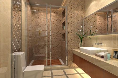 Phòng tăm đẹp của căn biệt thự 2 tầng