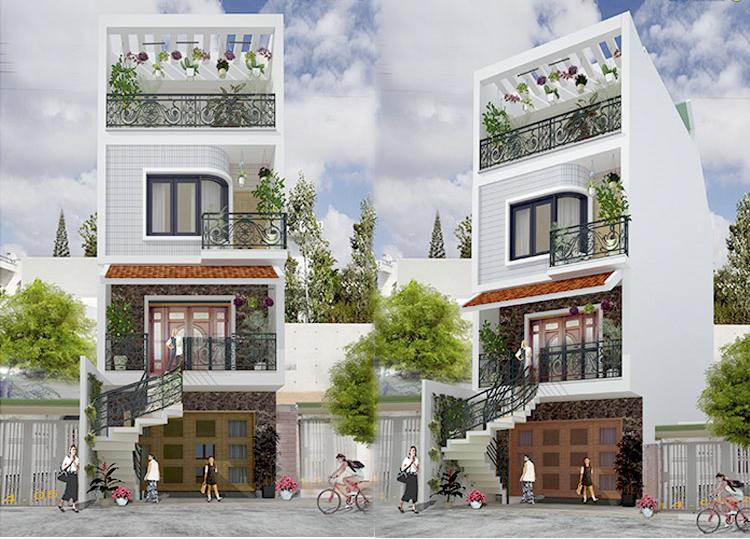 Nhà phố đẹp 5x13m – Lung linh mẫu thiết kế phong cách tân cổ điển