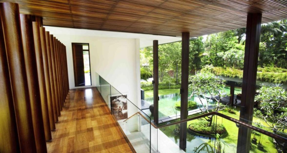 3  Nội thất biệt thự nhà vườn – Ngôi nhà tràn ngập ánh sáng mezzanine landing 1600x1004