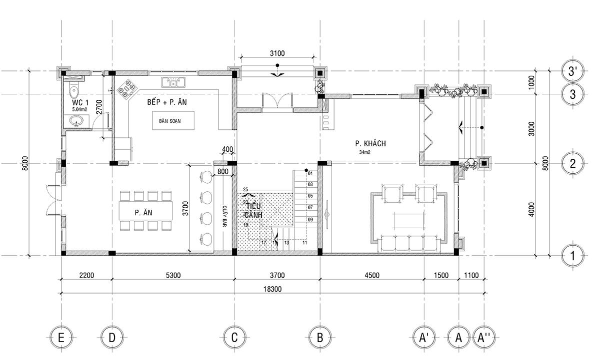 Biệt thự phố mặt tiền 8m – Biệt thự cổ điển đẹp biet thu pho mat tien 8m 5