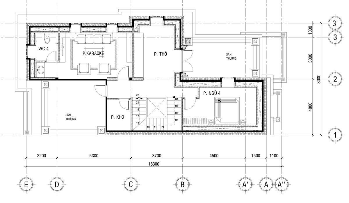 Biệt thự phố mặt tiền 8m – Biệt thự cổ điển đẹp biet thu pho mat tien 8m 7
