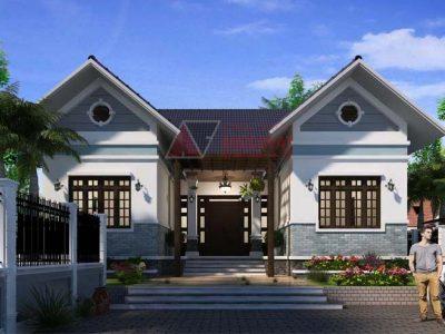 Mãu nhà cấp 4 đẹp 2021 chữ U, 50 mẫu nhà có thiết kế siêu đẹp