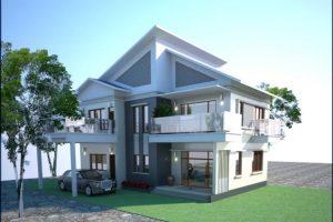 (3+) Giới thiệu bản vẽ thiết kế biệt thự 2 tầng đẹp mắt 2021