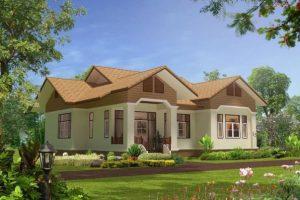 Bản vẽ cad nhà cấp 4 mái thái – Tiêu chuẩn nhà đẹp 2021