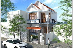 [ Download miễn phí ] Bản vẽ thiết kế nhà đẹp 2 tầng đơn giản