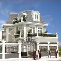 Biệt thự đẹp 2 tầng 80m2 – Mẫu thiết kế đẹp nhất được bình chọn 2021