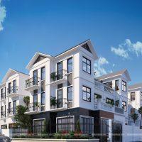 Biệt thự phố 3 tầng – Full bản vẽ thiết kế nhà đẹp 100m2 chỉ với 800 triệu