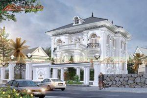 Video thiết kế biệt thự tân cổ điển đẹp 2021 phong cách hiện đại