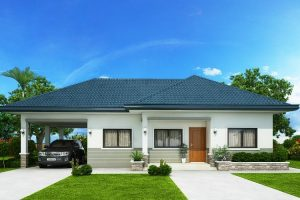 Thiết kế nhà cấp 4 có gara ô tô – Chia sẻ miễn phí mẫu nhà hot nhất 2021