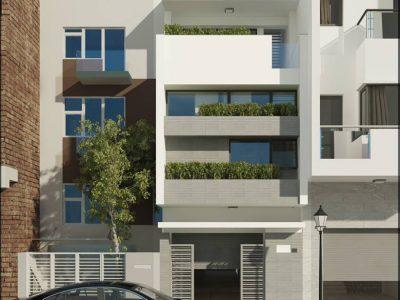 Nhà phố 4x19m 4 tầng – Thiết kế hiện đại tiết kiệm tối giản vẻ đẹp tinh tế