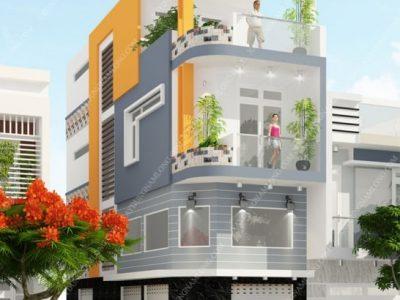 Tham khảo các mẫu nhà phố 2 mặt tiền đẹp nổi bật nhất 2021