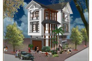Bản vẽ HD mẫu nhà 3 tầng mái thái đẹp mang đến kiến trúc Độc Đáo