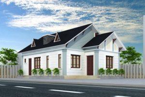 Nhà cấp 4 110m2 – Bản thiết kế nhà đẹp gắn kết các thành viên