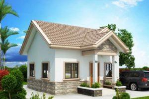 Nhà cấp 4 đẹp 50 m2 – Giải pháp hay nhất cho diện tích xây dựng nhỏ.