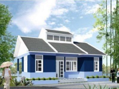 (10+) Những mẫu nhà cấp 4 nông thôn đơn giản năm 2021