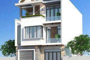 Mẫu nhà đẹp 8x14m – Mô hình nhà phố đẹp tiêu biểu hiện nay