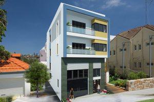 Mẫu thiết kế nhà phố 3 tầng 2 mặt tiền đẹp diện tích 129m2
