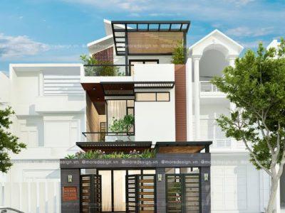 Top 10 những mẫu mặt tiền nhà phố 3 tầng đẹp 2021 xu hướng mới