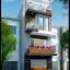 BTS mẫu nhà phố đẹp mặt tiền 5m – Kiến trúc nhà đẹp 2021
