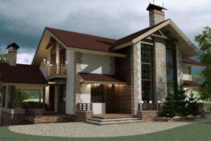 Ngắm nhìn mẫu thiết kế nhà 2 tầng đẹp ở nông thôn đang hot nhất 2021