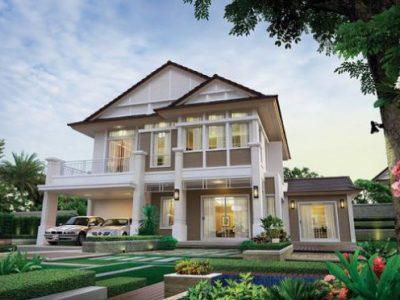 Bộ sưu tập những mẫu nhà mái thái đẹp 2021 phong cách biệt thự mới