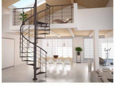 TOP 10 những mẫu cầu thang xoắn đẹp dành cho ngôi nhà của bạn