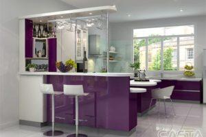 Một Số Mẫu Tủ Bếp Có Quầy Bar – Nội Thất Đẹp 2021