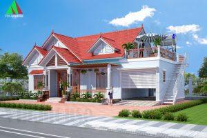 Nhà cấp 4 có sân thượng – Mẫu nhà được ưa chuộng nhất năm 2021