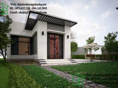 Nhà cấp 4 giá rẻ khoảng 150 triệu – Mẫu nhà được tìm kiếm nhiều nhất