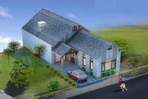Bản vẽ mẫu thiết kế nhà 1 tầng đẹp 2021 diện tích 8.5×24 mét