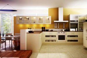 Những mẫu tủ bếp đẹp nhất 2021 với sự kết hợp màu sắc tươi sáng