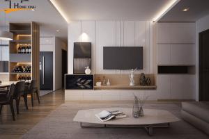 Nội thất căn hộ 120m2 – Thiết kế nội thất hiện đại nhất
