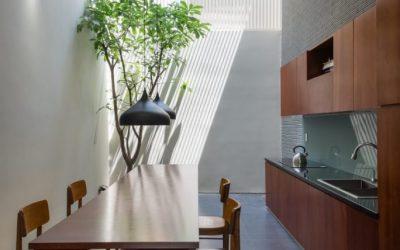 Nội thất nhà hướng Tây – Ngỡ ngàng với sức hút từ nội thất nhà 4 tầng