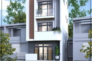 Nhà phố 4 tầng đẹp – Lung linh với thiết kế phong cách hiện đại trẻ trung