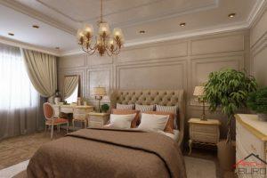 Mẫu phòng ngủ cổ điển Châu Âu – Tạp chí không gian đẹp 2021