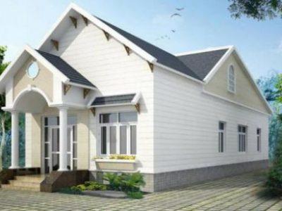 Thiết kế nhà cấp 4 mái thái đẹp với 300 triệu – Kiến trúc xây dựng 2021