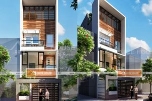 Thiết kế nhà phố 3 tầng diện tích 5x18m mang phong cách hiện đại
