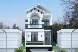 Thiết kế nhà phố đẹp diện tích 6x18m kết hợp không gian xanh