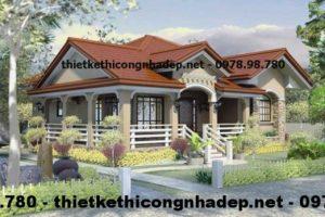 Thiết kế nội thất nhà cấp 4 đẹp 13x13m xu hướng mới 2021